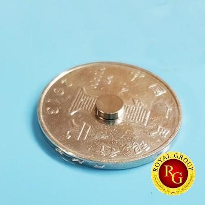 Nam châm đất hiếm hình đĩa 3x1.5mm