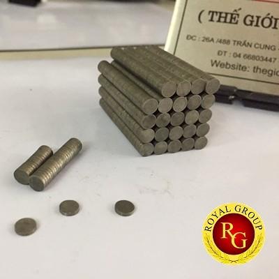 Nam châm đất hiếm 5x1.5mm