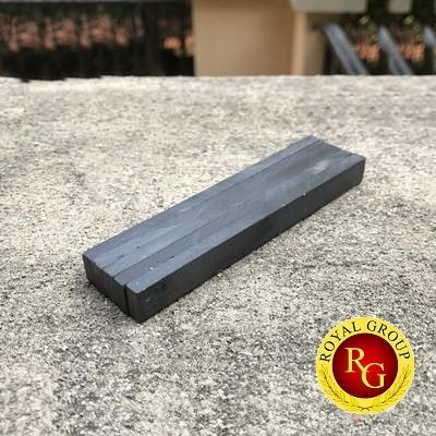 Nam châm ferrite đen 100x10x5mm
